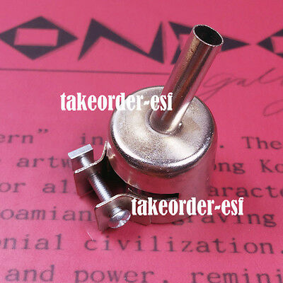 6mm Hot Air Nozzle for Rework Station bent single pipe soldering welding