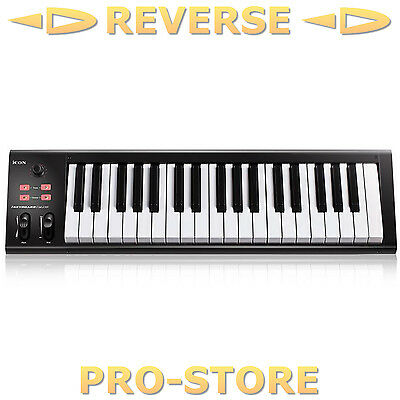 Icon iKeyboard 4Nano 37 Tasten USB MIDI Controller Keyboard Studio Channel