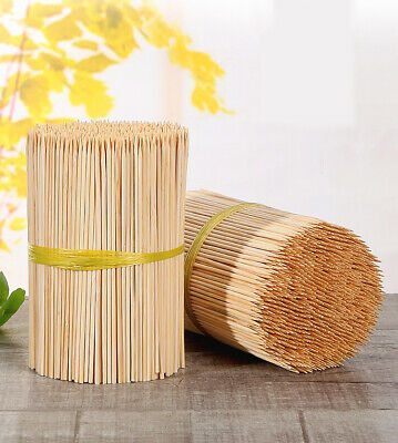 500,1000 Wooden Skewers Extra Long 35Cm Heavy Duty Grill Bbq Kebab Bamboo Sticks