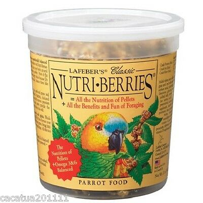 Lafeber  Nutriberries Original 340G - Complete Parrot Food And Ultimate Treat