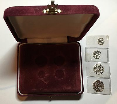 1936 Edward VIII Pattern Maundy Set with Presentation Box (B1)