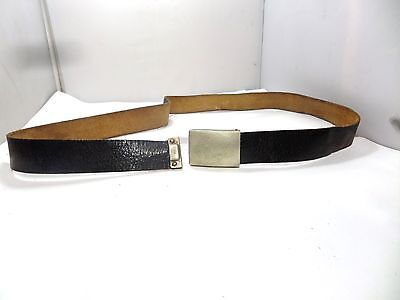 Vintage Overhoff And Cie  German Army Leather Belt