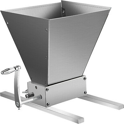 Grain Mill Home Brew Mill Barley Grinder Barley Crusher Crushing Dy-168 Popular