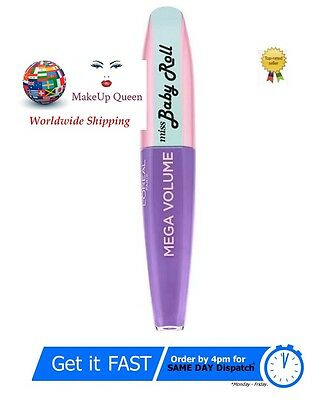 L'Oreal Miss Baby Roll Mascara Lilac Mega volume, curl & hold