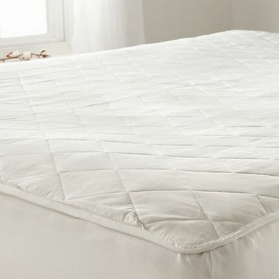 Luxury Quilted Fully Fitted Comfort Bed Mattress Protector Cover Sheet Bedroom