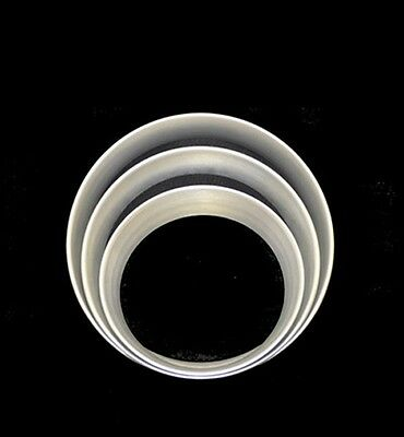 "10"" Aluminum Pizza Sauce / Cheese Rings (case 4)"