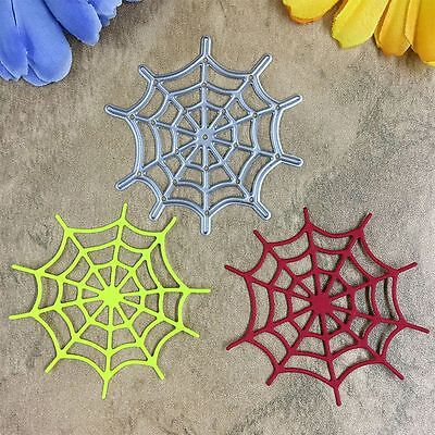 Template Bookmark Scrapbooking Card Metal Stencil Spider Web Cutting Dies