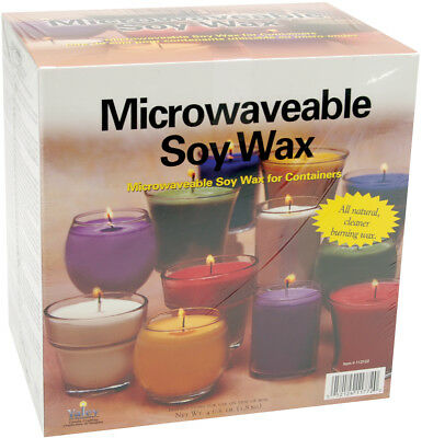 Yaley 112122 Microwaveable Soy Wax 4lb-For Glass Containers