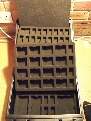Games Workshop 3 tier small Figure Case (G431)