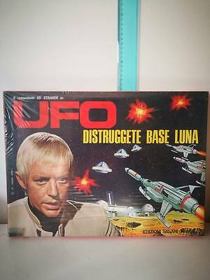 UFO DISTRUGGETE BASE LUNA – Ed.Salani 1974 Gioco Serie Tv ufo straker NEW RARE