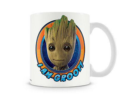 I Am Groot Guardians of the Galaxy Kaffee Becher Coffee Mug Tasse Marvel