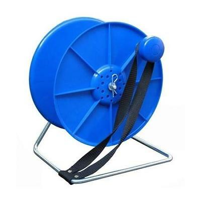 Complete Blue Reel /Spool Stand Lock And Break Electric Fence Fencing Wire Tape