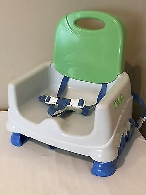 Fisher Price Booster Seat High Chair Baby Feeding Seat Green and Blue Color 2*YG