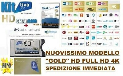 """CAMS+CARD TVsat HD-4K CERTIFIED TV SAT NEW MODEL Cams And Card """"GOLD"""""""