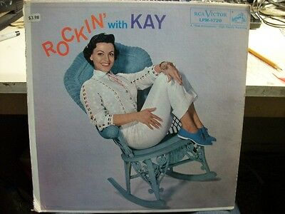 VOCAL LP: KAY STARR Rockin' With Kay RCA VICTOR VG+ Canada