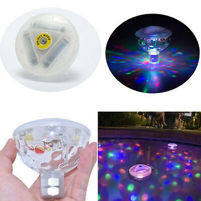 HOT Party Light Show Lazy Spa Whirl pool Bath Underwater Tubs Floating LED Bulb
