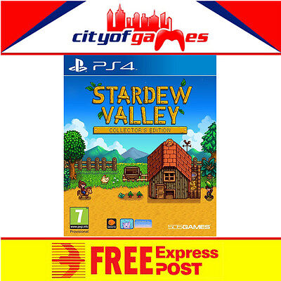 Stardew Valley Collector's Edition Game PS4 New Free Express Post In Stock