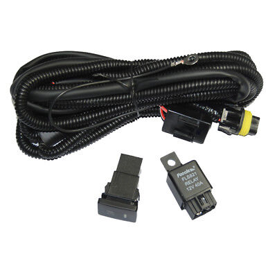 Relay Wiring Harness H11 For Toyota Add-On Fog Lights/ HID Conversion/ LED DRL
