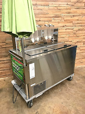 2013 C. Nelson Mfg Co. Self Sustained Ice Cream Dipping Cart