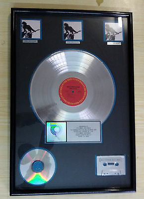 Bruce Springsteen Born To Run Multi-platinum 3 million award RIAA certified