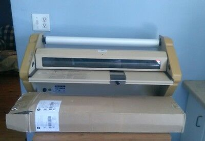 "Banner American BA-EZ27 27"" Wide Large Industrial Laminator W/ 2 New Rolls!!!"