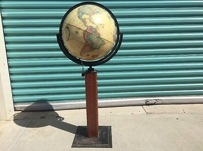 replogle 16 inch diameter globe world classic series with Floor Mount