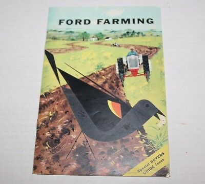 Ford Farming Special Buyers Guide Issue 1957 Dearborn Michigan Winslow Indiana