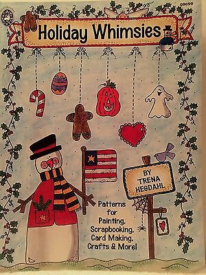 Holiday Whimsies Craft Patterns for Painting Scrapbooking Cardmaking Crafts