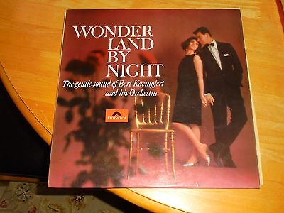 Lp/ Bert Kaempfert / Wonderland By Night (1966 Orig Uk Polydor Stereo