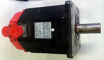 1 REFURBISHED GE FANUC A06B-0142-B075 #7008 AC SERVO MOTOR MODEL: α 12/2000 3 PH