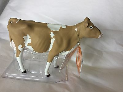 Safari collectible figurine Guernsey cow