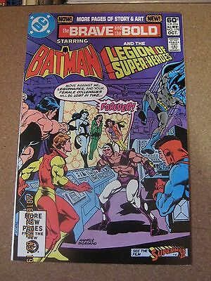 Brave and the Bold #179 Octobert 1981 Batman and Legion of Super-Heroes