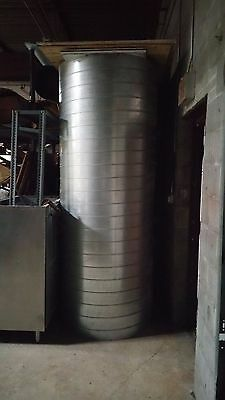 """40""""? Galvanized Steel Round Duct Pipe Air Supply Tube"""