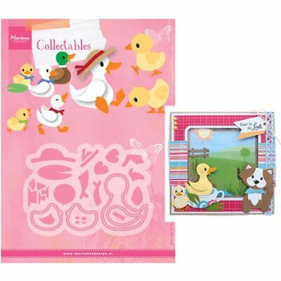 ELINE'S DUCK FAMILY COL1428 - Marianne Design COLLECTABLE DIES