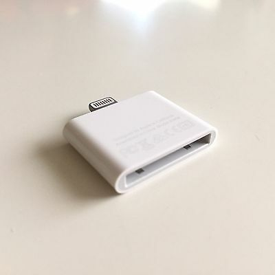 BRAND NEW! Apple Lightning to 30-pin Adapter - MD823ZM/A for Bose, iPhone, iPod