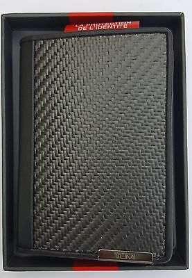 Tumi Gusseted Carbon Fiber Card Case 013856CB