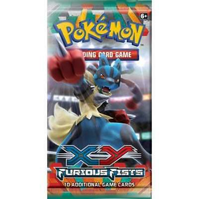 POKEMON XY FURIOUS FISTS * Booster Pack x1