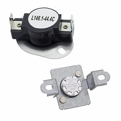 New 3977395 Dryer Thermal Fuse & Thermostat Kit Fits Whirlpool Kenmore Maytag