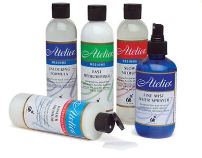 Atelier Acrylic Artists Painting Mediums 250ml