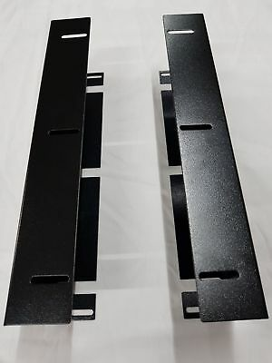 POSBOX EC410 Under Counter Mount Brackets Black EC410-UCMB-BLACK