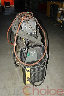 ESAB ESABMig 405 Welder w M12 ESABFeed 30-4 Wire Feeder - 3 Phase