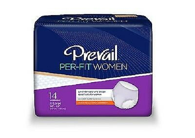 Prevail Per-Fit Underwear Women, XL, EXTRA LARGE, PFW-514 -Case of 56