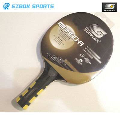 SUNFLEX MIKADO Table Tennis Bat Shock Absorber Speed  & Spin Anatomic ITTF Appr