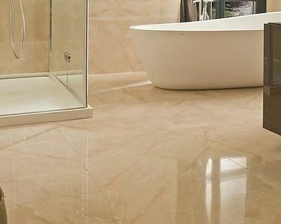Tiles-Glazed Polished Porcelain Floor/Wall Ice Pietra 600x600 150sqm Available