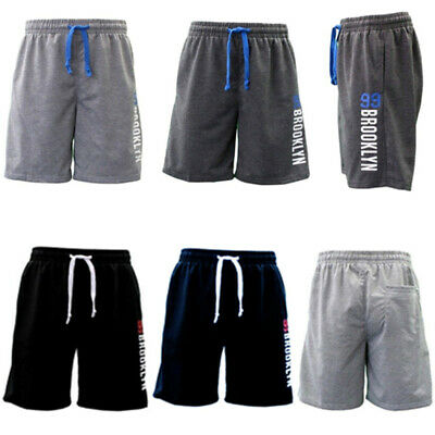 NEW Men's Gym Sports Jogging Casual Basketball Shorts w Drawstring - 99 BROOKLYN