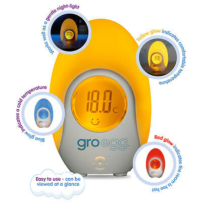 The Gro Company Gro-egg Colour Changing Clock
