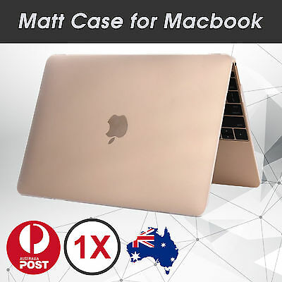 """Crystal Matte Hard Case Cover for Macbook Air Pro Retina 11.6"""" 12"""" 13.3"""""""
