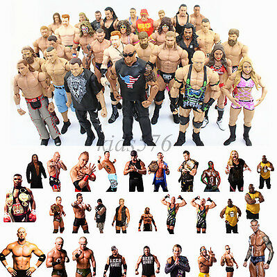 WWE SmackDown Raw Action Figure Wrestler Superstars Figurine Basic Series
