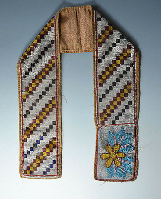 Stunning American Indian Ojibwe beaded belt