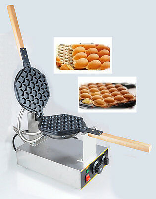 GEEG Electric Egg Cake Oven QQ Waffle Maker Dessert Breadfast Machine 110V 220V